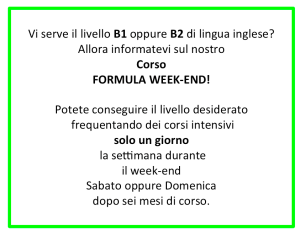 Formula Week-End